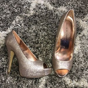 Chinese Laundry Rose Gold Heels